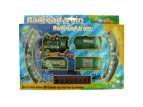 Railroad Train Set