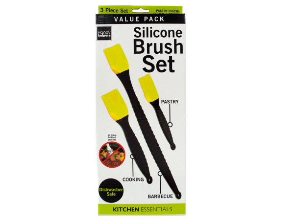 Silicone Cooking Brush Set