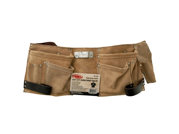 Heavy Duty Double Pocket Tool Belt