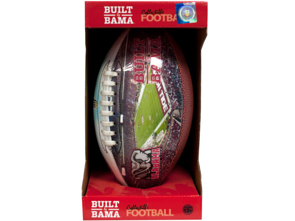 alabama inflated football