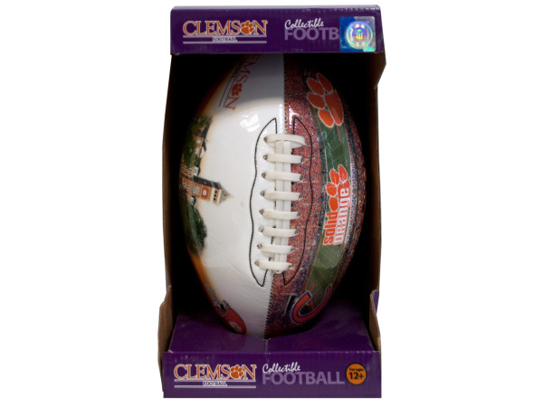 clemson inflated football