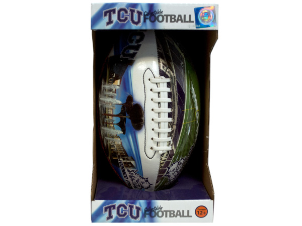 tcu inflated football
