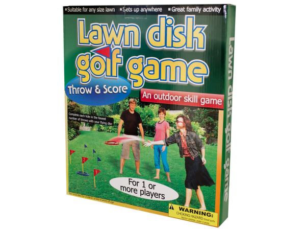 Lawn Disc Golf Game