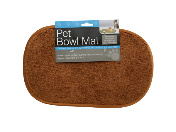Small Pet Bowl Mat