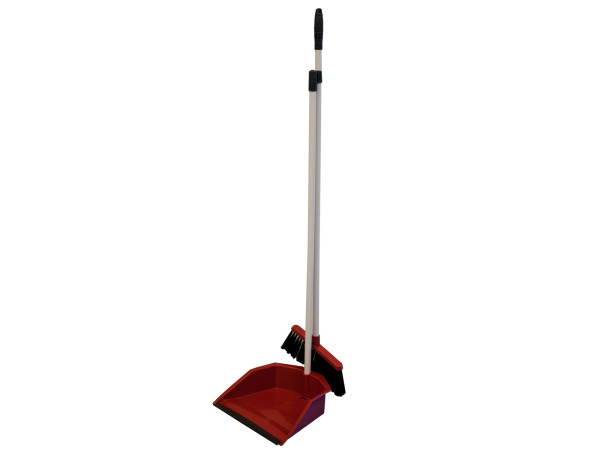 Broom and Dustpan with Handle Set