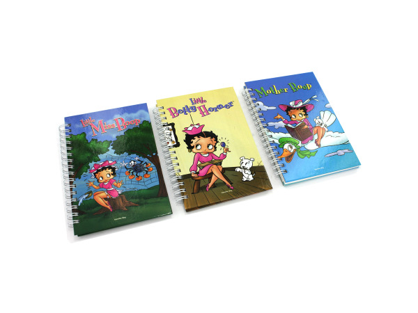 Betty Boop note pad, assorted designs