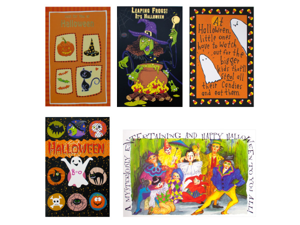 Halloween Card Assortment