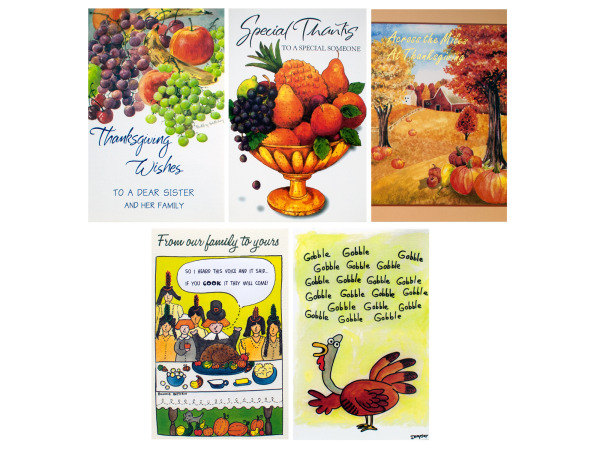 Thanksgiving Card Assortment