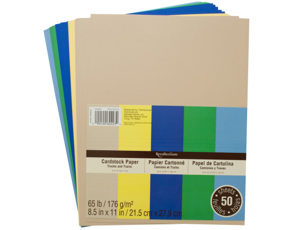 Colored 65lb Cardstock Paper
