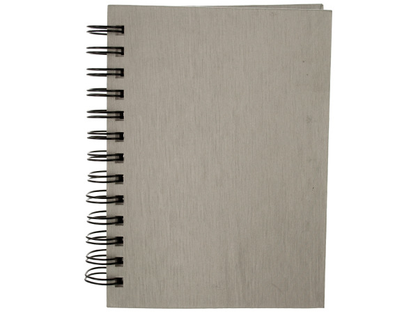 "7"" Silver Notebook"