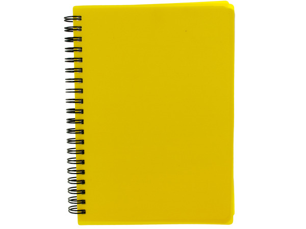 "7"" Yellow Notebook"