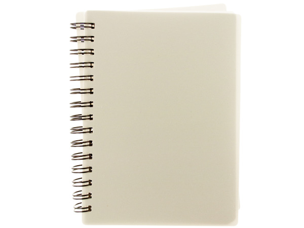 "5"" White Notebook"