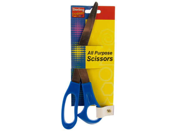 "8"" Blue All Purpose Scissors"