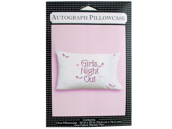 20 x 30 inch girls night out pillowcase