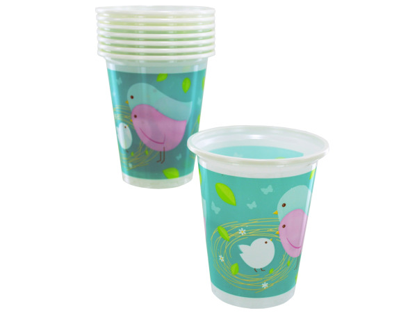 8 count 16oz baby plastic cups