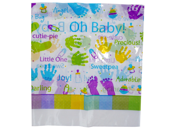48x88 baby plastic tablecover