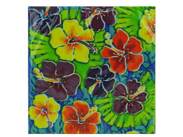 16ct luau beverage napkins