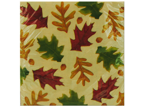 16 count autumn lunch napkins