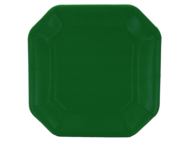 8 pack 10inch. green plates