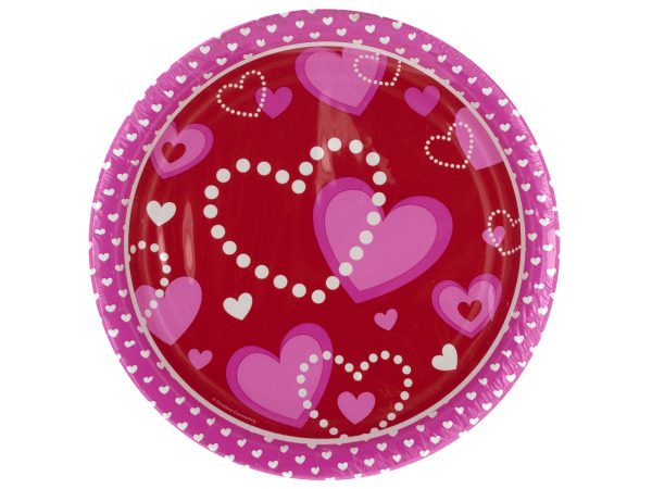 8ct heart plates