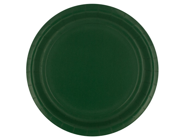 8 pack hunter green places 8 3/4 inch