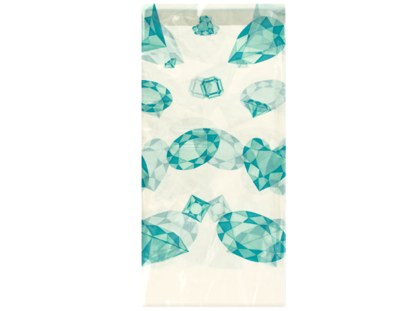 48 x 88 celebrate diamonds plastic tablecover