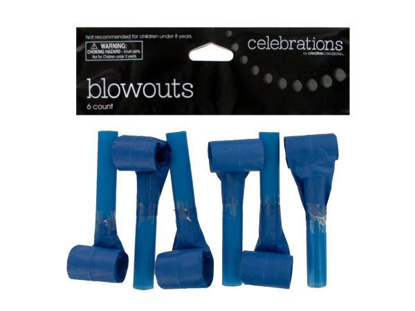 True Blue Party Blowouts Set