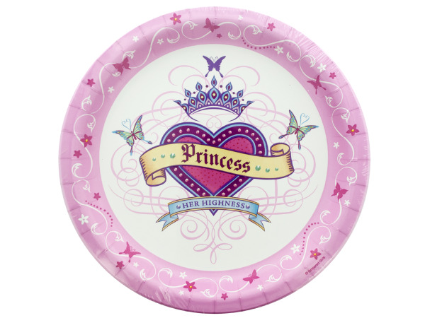 Her Highness Round Plates Set
