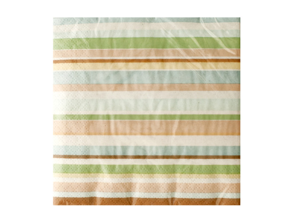 Tiny Toes Striped Napkins Set