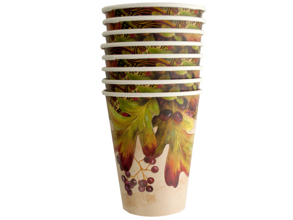 Leaves and Berries Cups Set