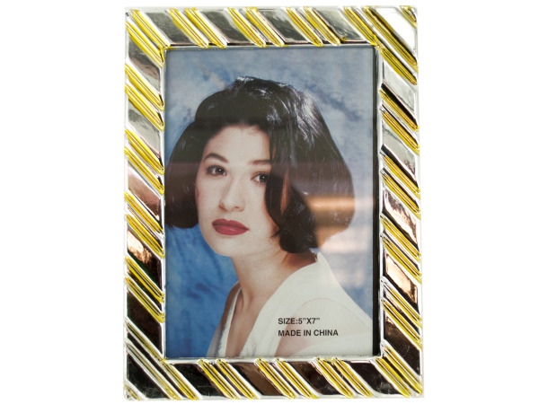Decorative Gold/Silver Photo Frame