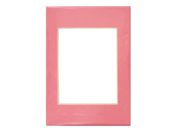 Solid Pink Photo Mat