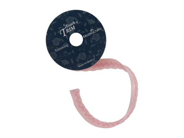 pink twisted cord/ribbon 6 foot spool