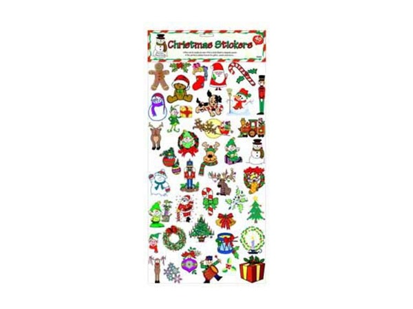 40 pc christmas stickers