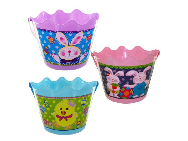 Easter bucket with handle