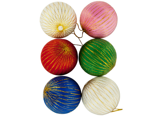 Colorful Christmas Ornament Balls
