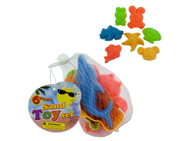 Toy sand molds