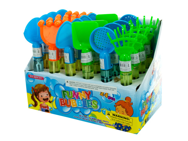 Medium Sand Toy Bubble Maker Counter Top Display