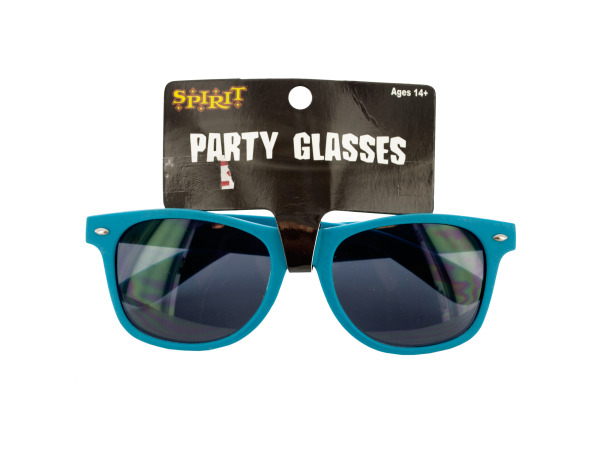 Turquoise Party Sunglasses