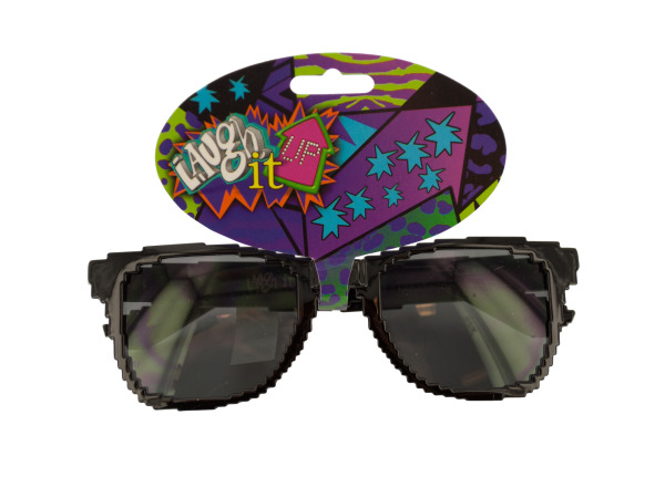 Black 8-Bit Sunglasses