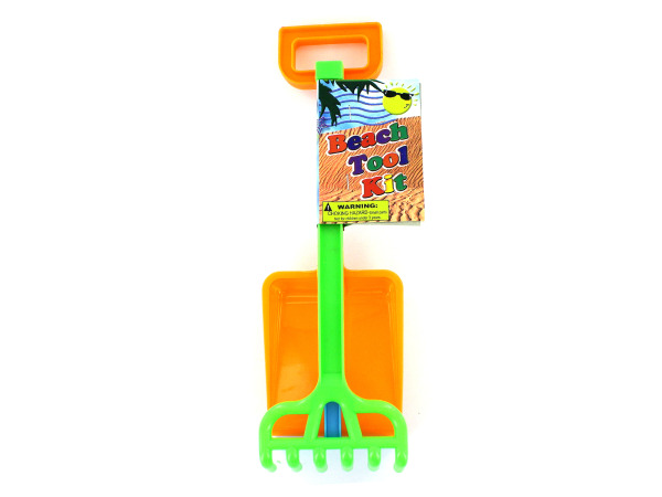 Beach tool play set