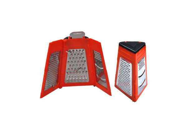 Multi-sided grater and slicer