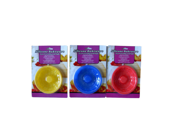 Silicone bakeware, bundt shaped