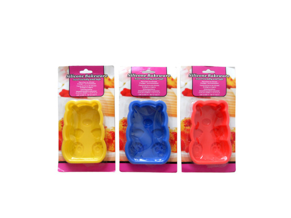 Silicone bakeware, teddy bear shaped