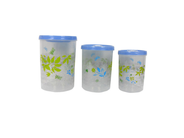 Decorative storage containers, pack of 3