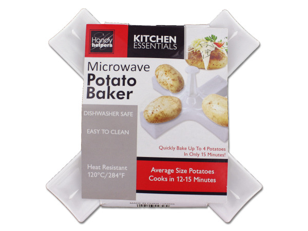 Microwave potato baker
