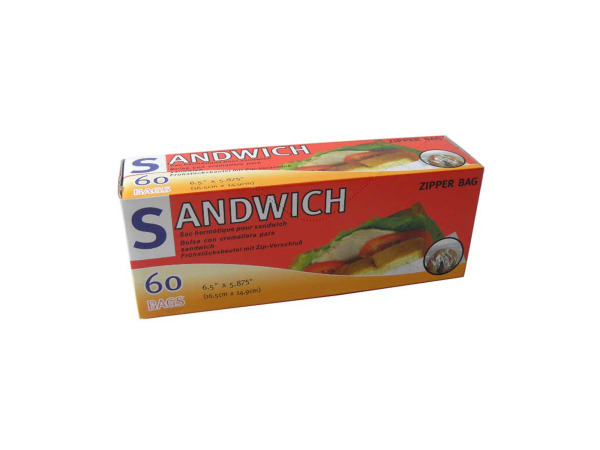 Sandwich bags, box of 60