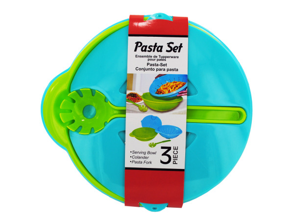 Pasta set with 3 pieces