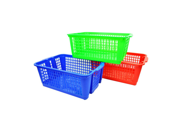 Stackable basket, assorted colors