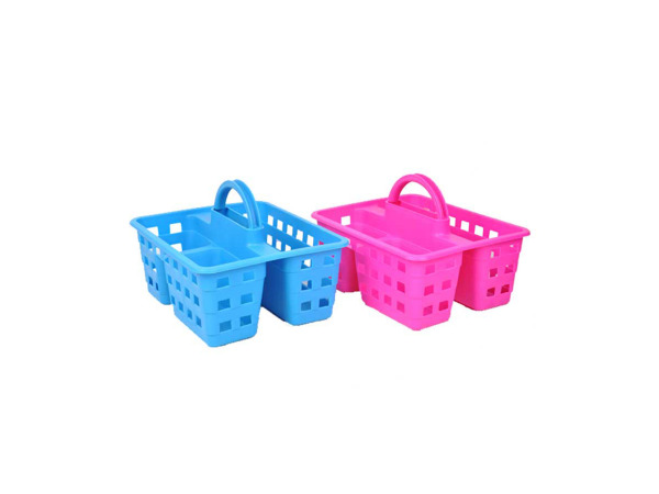 Portable shower caddy, assorted colors